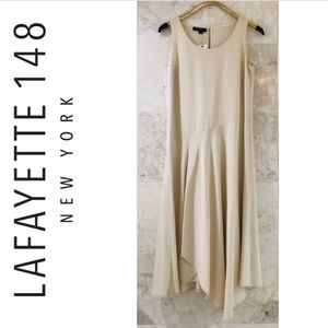 Lafayette 148 {42} Silk Dress Cream